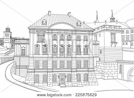The Royal Palace Of The 18th Century.