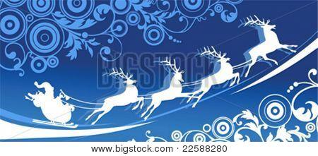 Weihnachtsmanns, Vektor-illustration