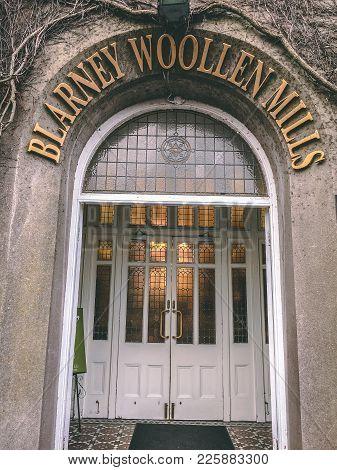 February 9th, 2018, Blarney, Ireland - Blarney Woollen Mills, Built In 1823, Is An Irish Heritage Sh
