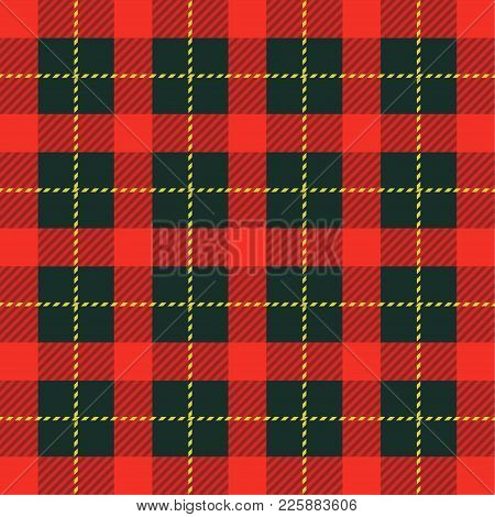 Plaid Tartan Seamless Pattern Background. Traditional Scottish Ornament. Lumberjack Style. The Fabri
