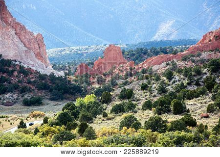 Garden Of The Gods National Park, Colorado Springs