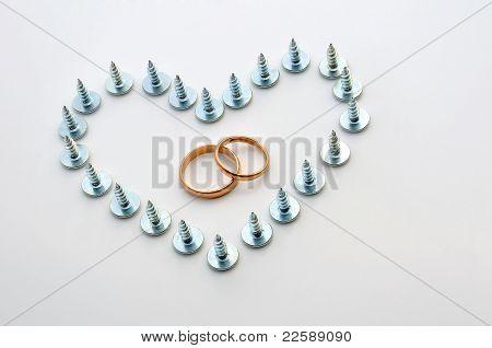 Screws And Wedding Rings