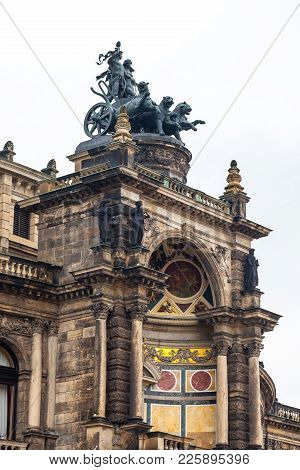 Semperoper, Opera House Of The Saechsische Staatsoper Dresden (saxon State Opera), Concert Hall, Dre