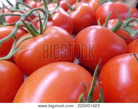 Naturally Grown Organic Tomatoes, Red Düet Food.