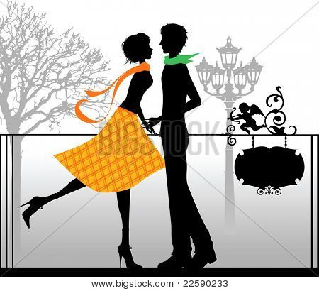 Valentine's background. Vector images scale to any size.