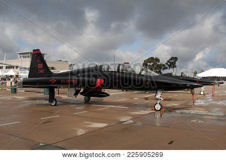 Northrop T-38A Talon Trainer Jet Aircraft