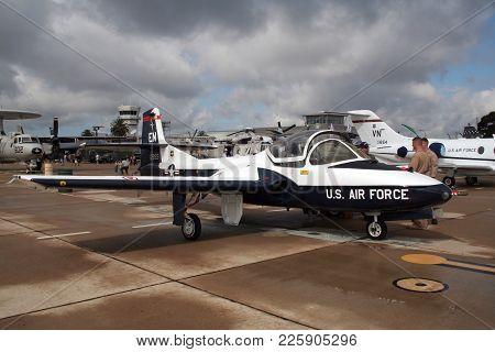 Us Air Force Cessna T-37 Tweet Trainer Jet