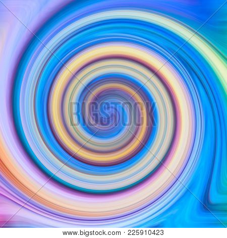 Abstract Twisted Twirl Multicolour Square Texture Background