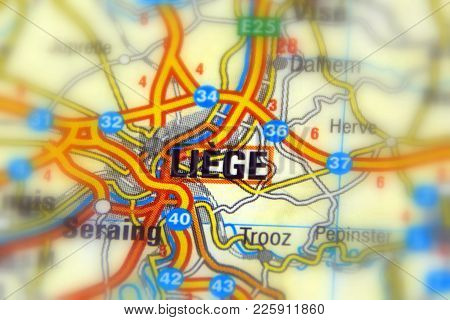 Liège, A Walloon City And The Capital Of The Belgian Province Of Liège.