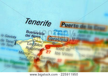 Tenerife, The Largest Island Of The Canary Islands (spain, Europe).