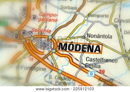 Modena, A City , In The Province Of Modena In The Emilia-romagna Region Of Northern Italy (europe).