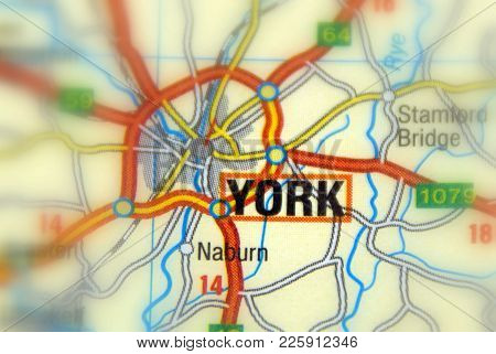 York, A City In In North Yorkshire, England.