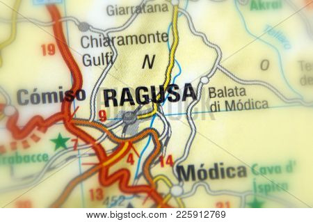 Ragusa, The Capital Of The Province Of Ragusa, On The Island Of Sicily, Italy (europe).