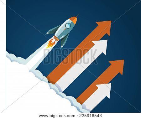 2018 Start Up_blue_background_rocket