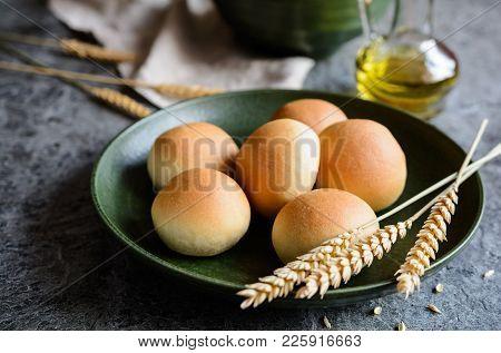 Panini All'olio - Italian Olive Oil Bread Rolls
