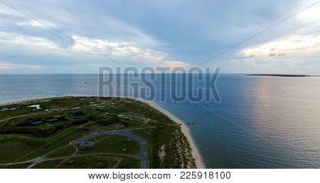 Fort Morgan, Alabama Where The Bay Meets The Gulf