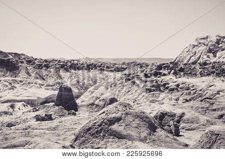 Toadstool Hoodoos In Paria Rimrock State Park
