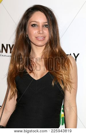 LOS ANGELES - FEB 6:  Celeste Fianna at the 7th Annual  LANY Entertainment Mixer at 33 Taps Hollywood  on February 6, 2018 in Los Angeles, CA