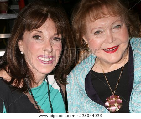 LOS ANGELES - FEB 2:  Kate Linder, Lee Phillip Bell at the Tracey Bregman 35th Anniversary on the Young and the Restless at CBS TV City on February 2, 2018 in Los Angeles, CA