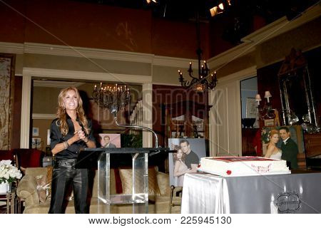 LOS ANGELES - FEB 2:  Tracey Bregman at the Tracey Bregman 35th Anniversary on the Young and the Restless at CBS TV City on February 2, 2018 in Los Angeles, CA