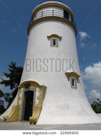 Macau's Guia Fortress lighthouse