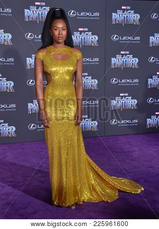 LOS ANGELES - JAN 29:  Sydelle Noel arrives for the 'Black Panther' World Premiere on January 29, 2018 in Hollywood, CA