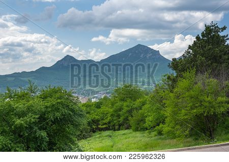 Beshtau Is An Isolated Five-domed Igneous Mountain Near Pyatigorsk In The Northern Caucasus, Russia