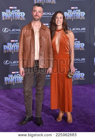 LOS ANGELES - JAN 29:  Sean Gunn arrives for the 'Black Panther' World Premiere on January 29, 2018 in Hollywood, CA