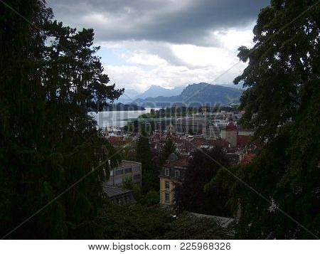 Historic City Center Of Lucerne And Lake Vierwaldstattersee, Luzern, Switzerland
