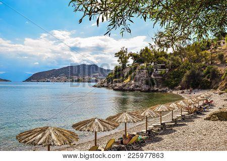 Asini Small Beach, Greece.