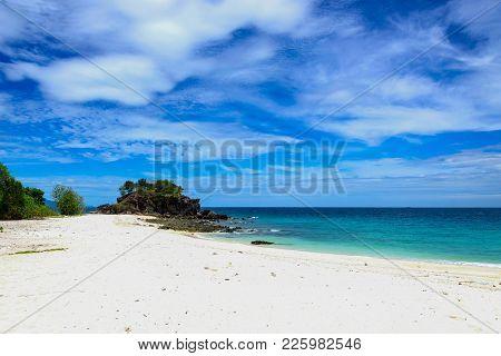 Tropical Beach  Andaman Sea At Koh Khai Near Koh Lipe In Satun, In Thailand