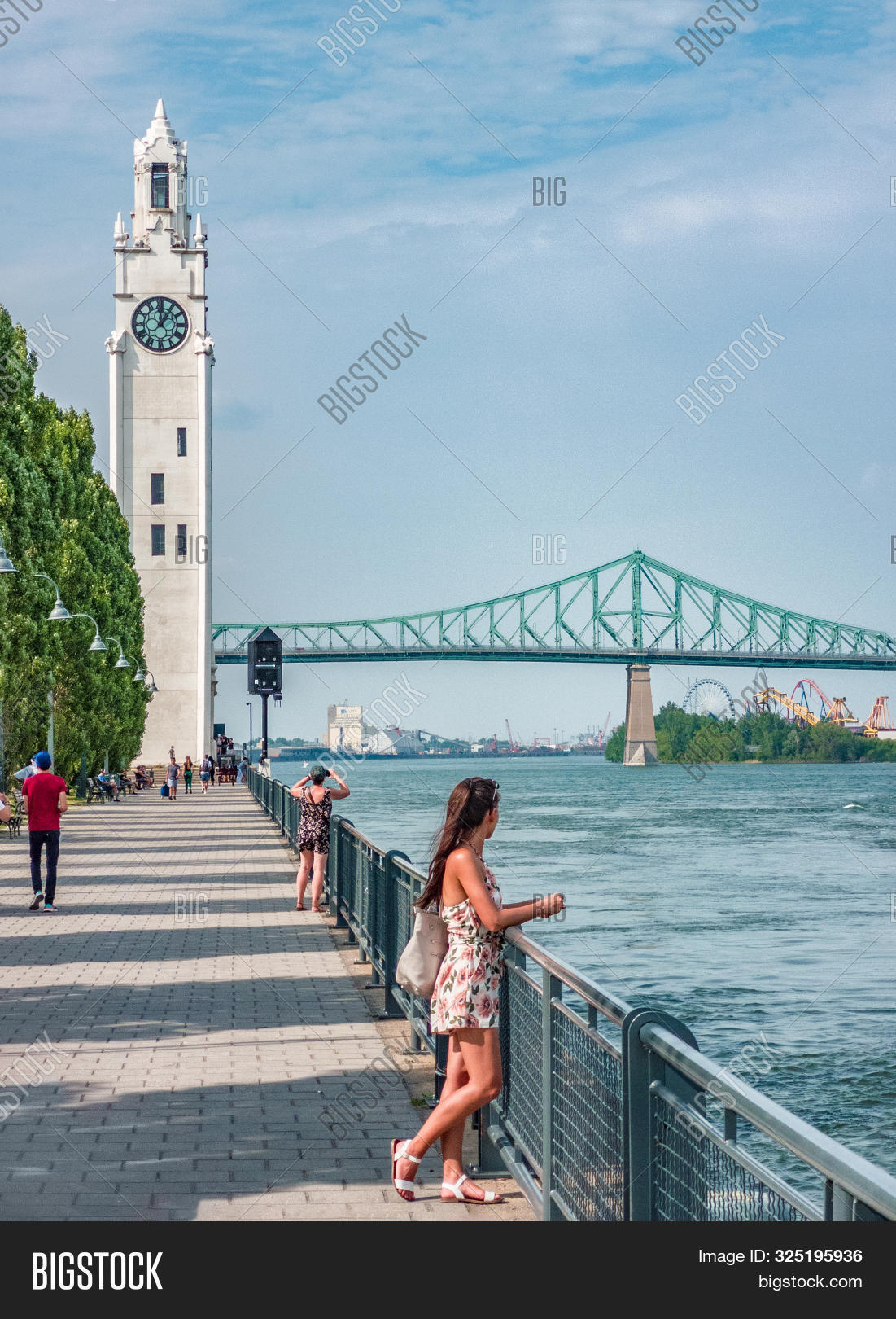 Montreal Old Port Image & Photo Free Trial   Bigstock