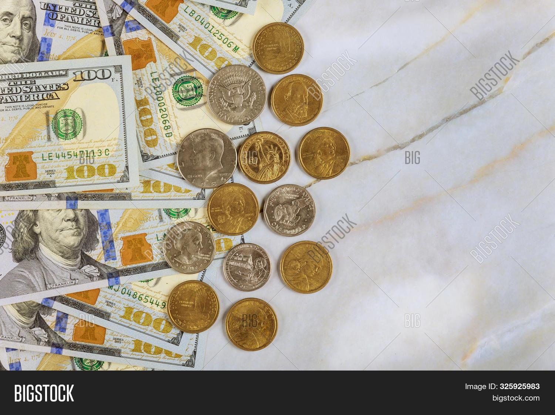Us Dollar Coin Money Image Photo