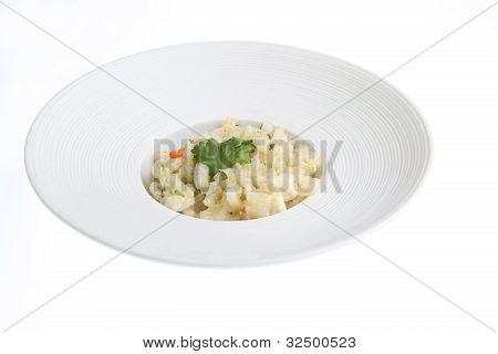 Crab Risotto Dish