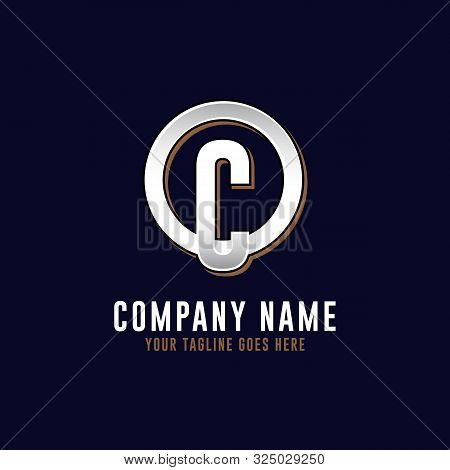 O C Initial Logo Vector, O Letter Logo Inspirations, Sport, Finance, Action Logo Idea