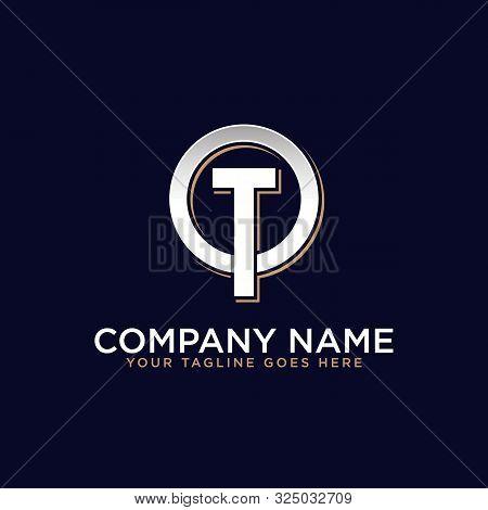 O T Initial Logo Vector, O Letter Logo Inspirations, Sport, Finance, Action Logo Idea