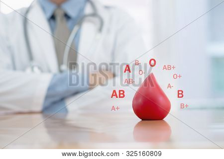 Donate  Blood Group  Doctor Concepts Healthcare Concept