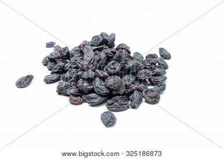 Raisins Made Of Dark Grapes. Shadow Raisins.