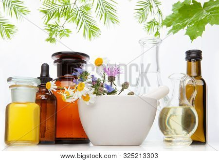 Natural Medicines, Aromatherapy - Bach. Natural Remedies, Aromatherapy - Bottle.