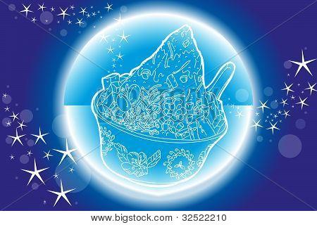 Ice Blended Dessert