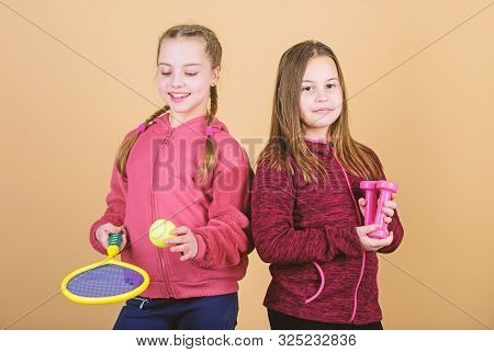 We Love Sport. Child Might Excel In Completely Different Sport. Friends Ready For Training. Ways To