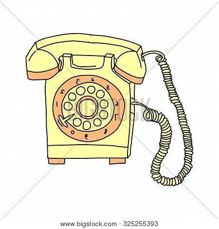 Vintage Telephone Retro Rotary Plate Antique Phone Old Phone Retro Phone Rarity Telephone Vintage Ph