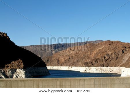 Hoover Dam Lake Is Getting A Little Low