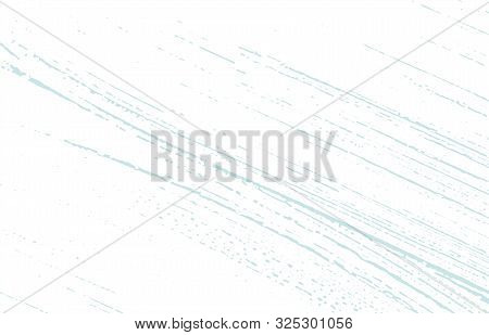 Grunge Texture. Distress Blue Rough Trace. Brilliant Background. Noise Dirty Grunge Texture. Fascina