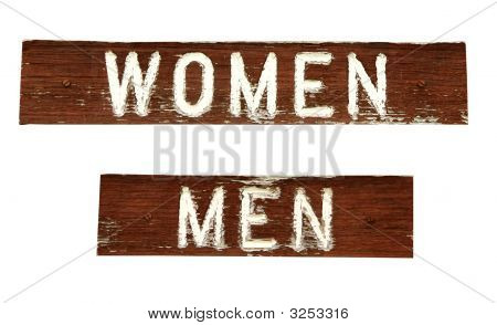 Grungy Signs Women And Men