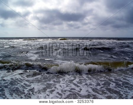 Storm On The North Sea