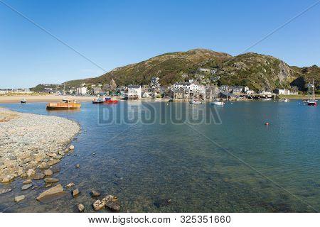 Barmouth Wales Beautiful Coast Town In Gwynedd Snowdonia National Park Uk
