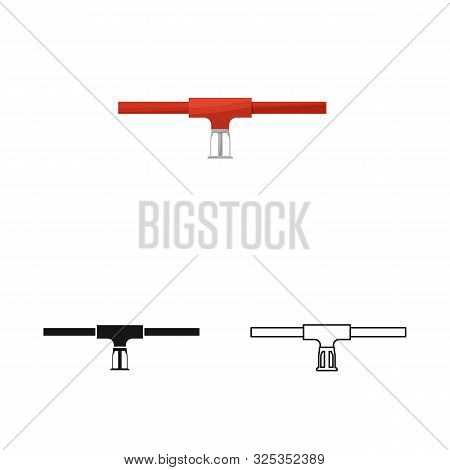Vector Design Of System And Sprinkler Icon. Set Of System And Suppression Vector Icon For Stock.