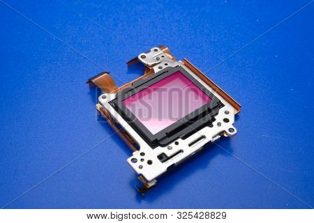 Camera sensor.  cmos ccd full frame camera sensor