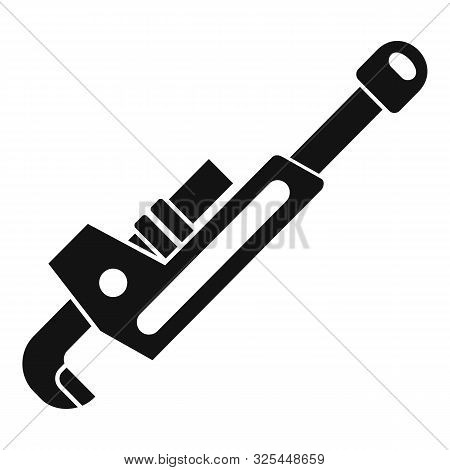 Plumber Key Icon. Simple Illustration Of Plumber Key Vector Icon For Web Design Isolated On White Ba
